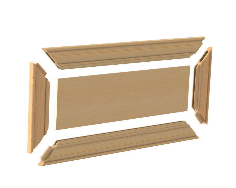 5 Piece Miter Door