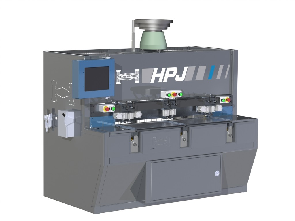 The new HP5D drill, dowel and groove machine